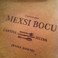 Photo taken at Mexsi Bocu by Lucia M. on 3/24/2013
