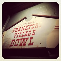 Photo taken at Frankfort Bowling Alley by Erin R. on 12/15/2012