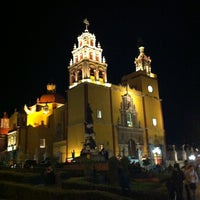 Photo taken at Basílica Colegiata de Nuestra Señora de Guanajuato by Mauricio C. on 11/17/2012