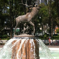 Photo taken at Parque de los Venados by Mauricio C. on 3/18/2013