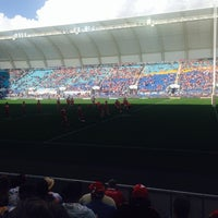 Photo taken at Cbus Super Stadium by Cameron H. on 6/22/2014