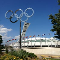 Photo taken at Olympic Stadium by Greg G. on 7/13/2013