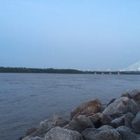 Photo taken at Mississippi River by Alec B. on 5/20/2014