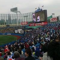 Photo taken at Meiji Jingu Stadium by Masaru T. on 3/30/2013