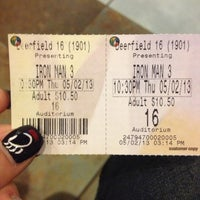 Photo taken at Regal Cinemas Deerfield Towne Center 16 by Laura D. on 5/3/2013