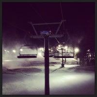 Photo taken at Gunstock Mountain Resort by Stephanie R. on 1/3/2013