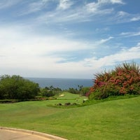 Photo taken at Wailea Golf Club by Jackie W. on 10/24/2012