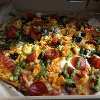 Photo taken at Pieology Pizzeria by Briana R. on 10/19/2014