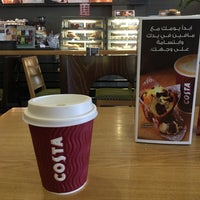 Photo taken at Costa Coffee by Sayed Maitham A. on 1/17/2017