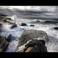 Photo taken at Windansea Beach by Shawn B. on 12/26/2012
