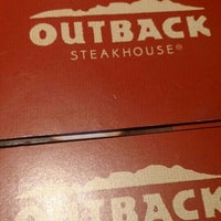 Photo taken at Outback Steakhouse by Amethyst A. on 2/29/2016
