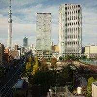 Photo taken at MEN'S TBC LOTTE CITY 錦糸町店 by Takahiro K. on 11/15/2012