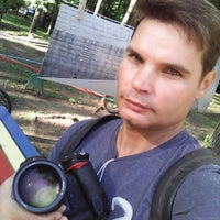Photo taken at 🐾 Место для выгула собак 🐾 by Славик О. on 8/1/2015