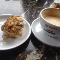 Photo taken at Green Caffè Nero by Joanna B. on 5/12/2013