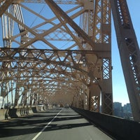 Photo taken at Ed Koch Queensboro Bridge by Orhun A. on 10/22/2012