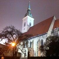 1/11/2013 tarihinde antonio g.ziyaretçi tarafından Katedrála svätého Martina'de çekilen fotoğraf