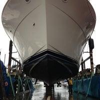Photo taken at svendson boat yard by John C. on 4/4/2013