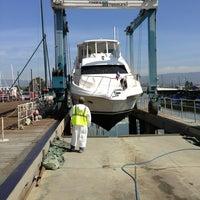 Photo taken at svendson boat yard by John C. on 4/3/2013