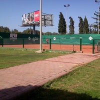 Photo taken at Tennis Club ASM by Ahmed F. on 4/26/2013