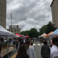 Photo taken at FRESHFARM Market by the White House by mydarling on 5/25/2017