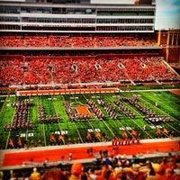 Photo taken at Memorial Stadium by Samir N. on 9/16/2012