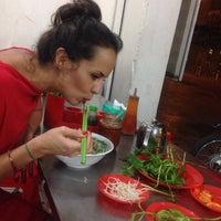 Photo taken at Phở Bắc Hải by Szymon K. on 10/16/2014