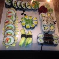 Photo taken at Nikai Sushi by Laura I. on 5/24/2015