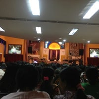 Photo taken at GBI Tabgha by Meny P. on 1/28/2013
