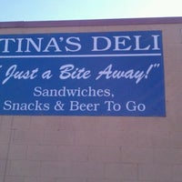 Photo taken at Tina's Deli by Durrell T. on 10/3/2012