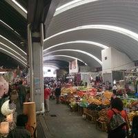 Photo taken at Mercado Jamaica by Alejandro A. on 7/14/2013