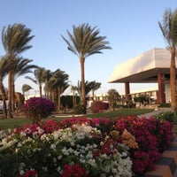 Photo taken at Pyramisa Resort Sharm El-Sheikh by Petr on 2/6/2013