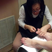 Photo taken at Charming Nails by helen d. on 4/1/2013