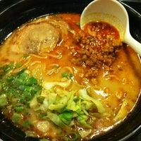 Photo taken at Ajisen Ramen by Joy T. on 1/20/2013