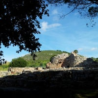 Photo taken at Nuraghe Palmavera by Rudy K. on 9/17/2012