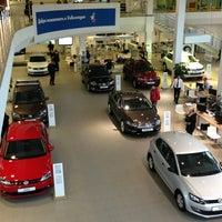 Photo taken at Volkswagen Центр Варшавка by Anastasia 👣 on 1/26/2013