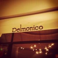 Photo taken at Delmonico Steakhouse by Tom C. on 10/31/2012