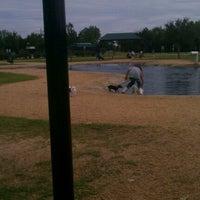 Photo taken at Bill Archer Dog Park by Cruz P. on 10/7/2012