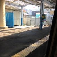 Photo taken at 上諏訪駅 1番線ホーム by ふとんや on 3/10/2018