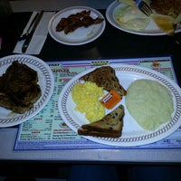 Photo taken at Waffle House by Debby G. on 4/8/2013