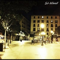 Photo taken at Plaza de Lavapiés by Miguel D. on 3/11/2013