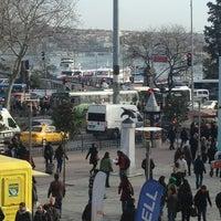 Photo taken at Beşiktaş Square by CEREN ASENA A. on 2/2/2013