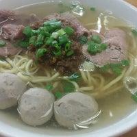 4/28/2014 tarihinde Erik J.ziyaretçi tarafından Shin Kee Beef Noodles'de çekilen fotoğraf