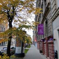 Photo taken at Gertrūdes Iela 60 by Jānis J. on 10/18/2017