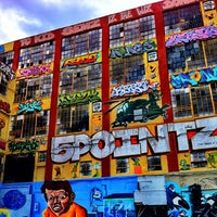 Photo taken at 5 Pointz by Mike J. on 11/2/2012