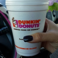 Photo taken at Dunkin' Donuts by Laura G. on 10/20/2013