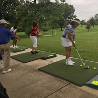Photo taken at Hermann Park Golf Course by Stacey F. on 5/2/2016