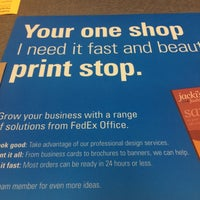 Photo taken at FedEx Office Print & Ship Center by Stacey F. on 9/12/2014