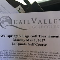 Photo taken at Quail Valley Golf Course by Stacey F. on 5/1/2017