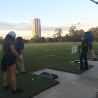 Photo taken at Hermann Park Golf Course by Stacey F. on 11/12/2017