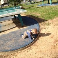 Photo taken at HaGolan Playground - Kiriat HaSharon by Ariel B. on 2/8/2013